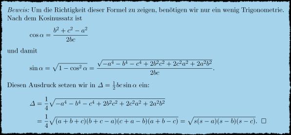 formel kosinussatz